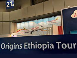 Am Stand von Origins Ethiopia (2015)