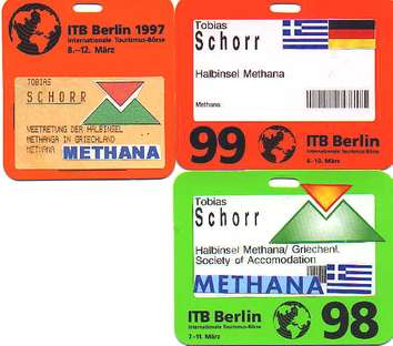 Tickets der Teilnahme von Tobias Schorr an der ITB