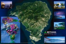 Satellitenbild von Methana (c) Google & Tobias Schorr