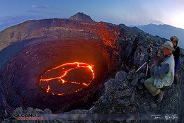 Der Lavasee Erta Ale. (c) Tom Pfeiffer http://www.VolcanoDiscovery.com