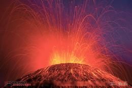 Ausbruch des Ätna. (c) Tom Pfeiffer http://www.VolcanoDiscovery.com