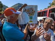 Die geologische Karte von Methana war ein idealer Begleiter der Exkurion zum historischen Vulkan