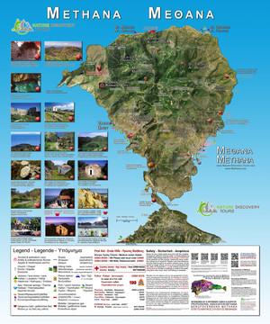 Ο τουριστικός χάρτης του Τωβίας Σώρρος 2015